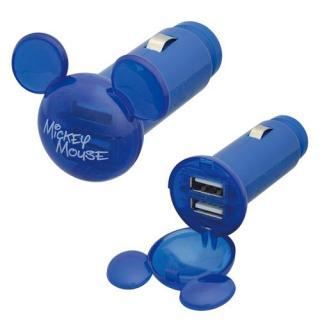 USBソケット MAX2.4A/ミッキーマウス_2