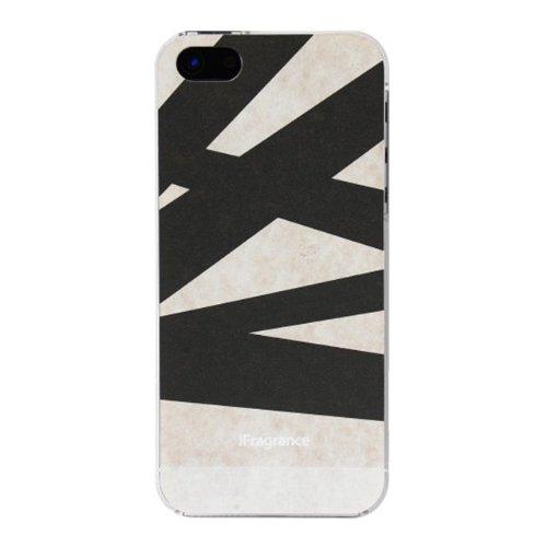 【iPhone SE/5s/5ケース】iFragrance 香りを付けられるiPhone SE/5s/5ケース SLASH BLACK_0