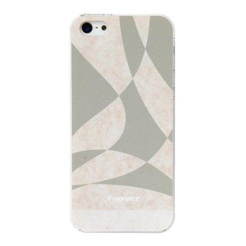 iPhone SE/5s/5 ケース iFragrance 香りを付けられるiPhone SE/5s/5ケース WAVER GRAY_0