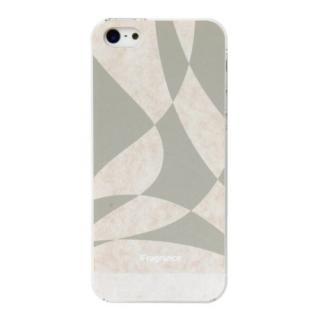 iPhone SE/5s/5 ケース iFragrance 香りを付けられるiPhone SE/5s/5ケース WAVER GRAY