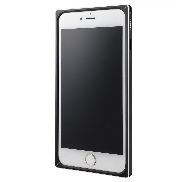 GRAMAS ストレートメタルバンパー ブラック iPhone 6s Plus/6 Plus