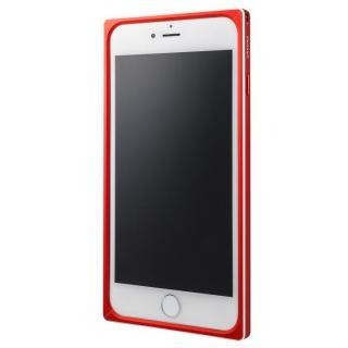 【iPhone6s Plus/6 Plusケース】GRAMAS ストレートメタルバンパー レッド iPhone 6s Plus/6 Plus