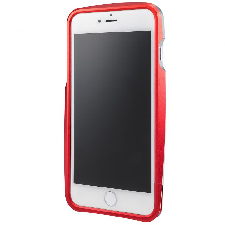 GRAMAS ラウンドメタルバンパー レッド iPhone 6s Plus/6 Plus