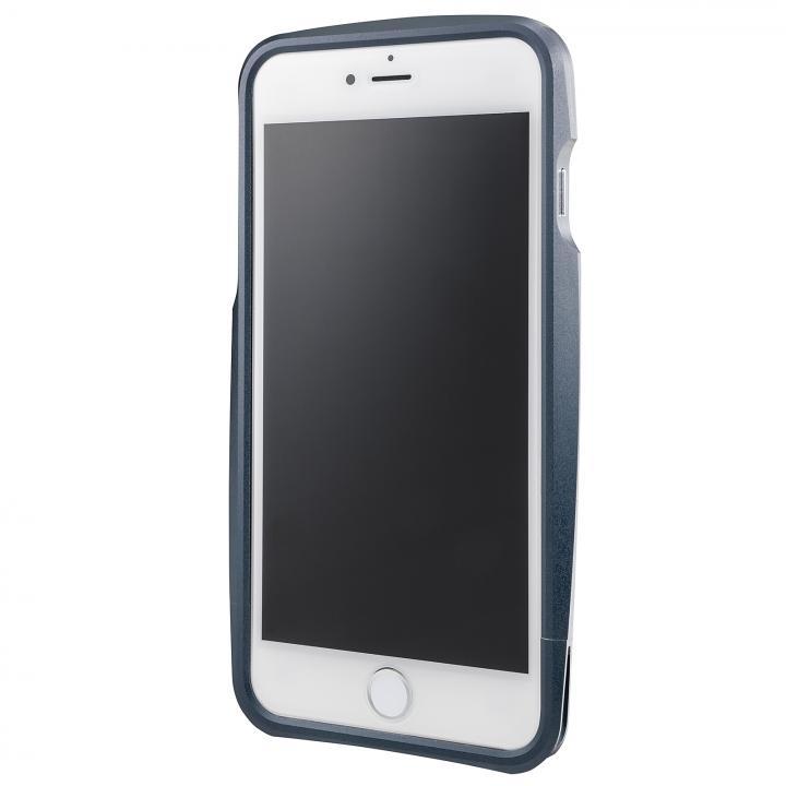 iPhone6s Plus/6 Plus ケース GRAMAS ラウンドメタルバンパー ネイビー iPhone 6s Plus/6 Plus_0