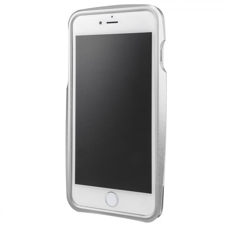 iPhone6s Plus/6 Plus ケース GRAMAS ラウンドメタルバンパー シルバー iPhone 6s Plus/6 Plus_0