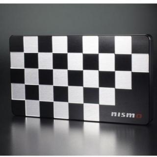 NISSAN&NISMOシリーズ ジュラルミン削り出し名刺入れ nismo 市松モデル