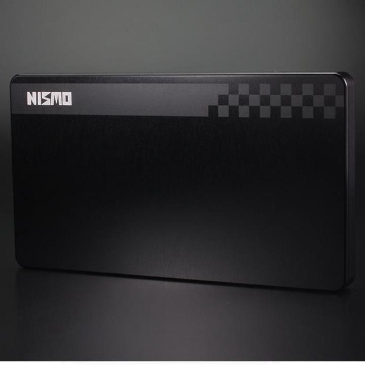 NISSAN&NISMOシリーズ ジュラルミン削り出し名刺入れ nismo 旧ロゴモデル_0