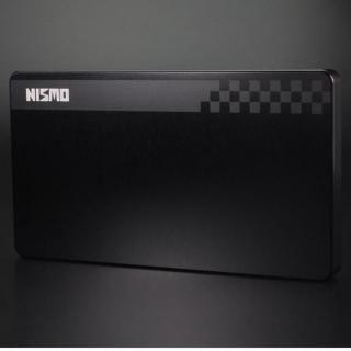NISSAN&NISMOシリーズ ジュラルミン削り出し名刺入れ nismo 旧ロゴモデル