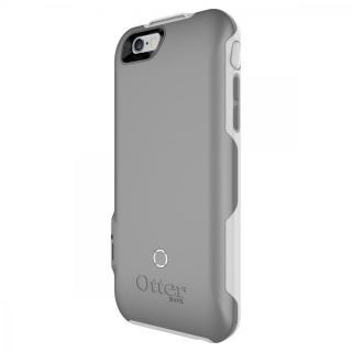 耐落下衝撃バッテリー内蔵ケース OtterBox Resurgence ホワイト/ガンメタルグレー iPhone 6