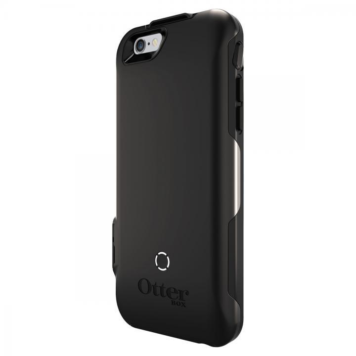 耐落下衝撃バッテリー内蔵ケース OtterBox Resurgence ブラック/ブラック iPhone 6