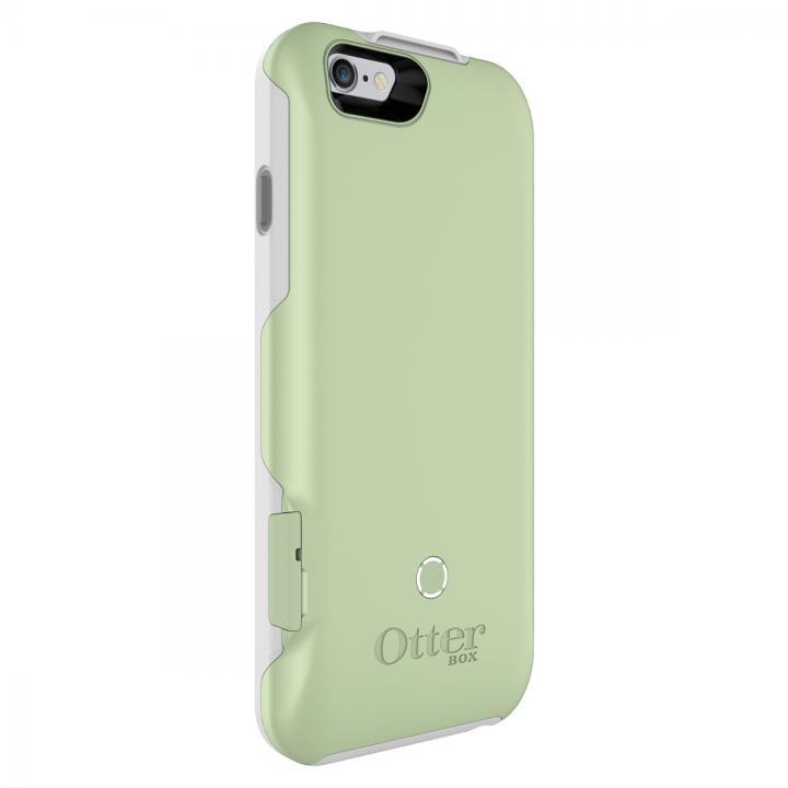 【iPhone6ケース】耐落下衝撃バッテリー内蔵ケース OtterBox Resurgence ミントグリーン/ホワイト iPhone 6_0