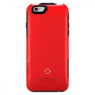 【iPhone6ケース】耐落下衝撃バッテリー内蔵ケース OtterBox Resurgence スレートグレー/スカーレットレッド iPhone 6_4