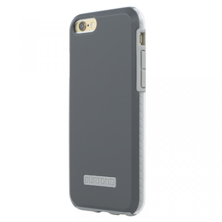 2層構造耐衝撃ケース Burton Dual Layer Dark Grey&Grey iPhone 6s/6