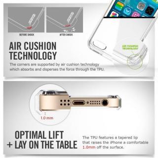 【iPhone SE/5s/5ケース】Spigen ウルトラハイブリッド クリスタルクリアケース iPhone SE/5s/5_1