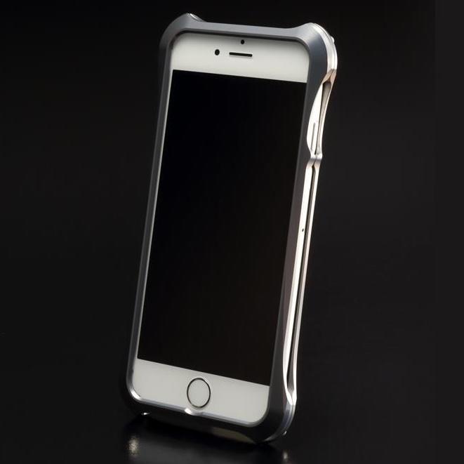 iPhone6 ケース REAL EDGE C-5 ジュラルミンバンパー ガンメタリック iPhone 6_0