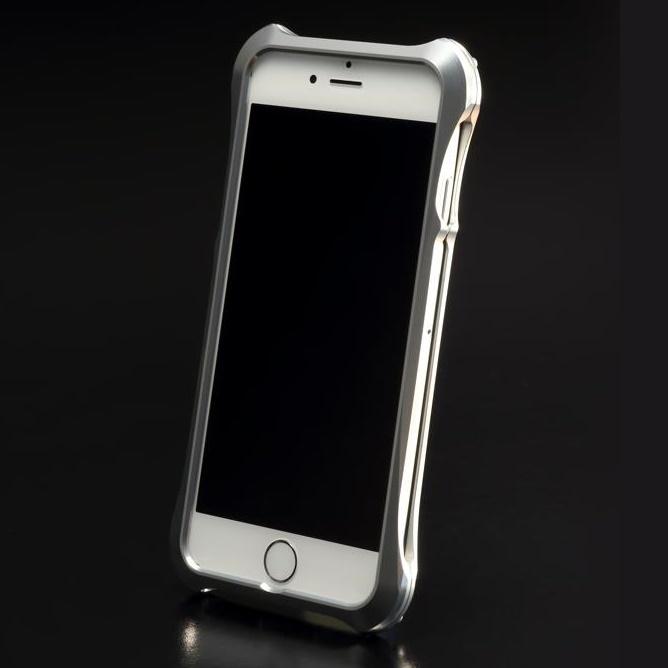 iPhone6s ケース REAL EDGE C-5 ジュラルミンバンパー シルバー iPhone 6s/6_0