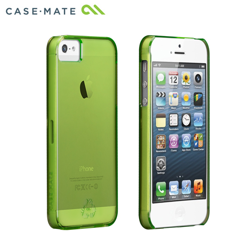 100% PETリサイクルiPhone5s/5ケース グリーン