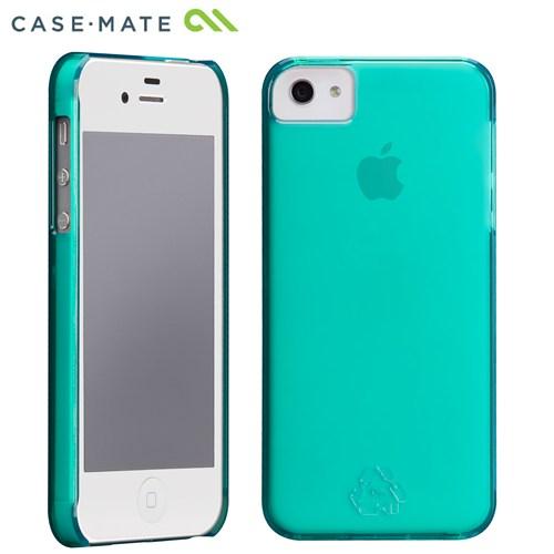 100% PETリサイクル ブルー iPhone SE/5s/5 ケース