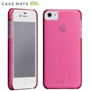 100% PETリサイクル ピンク iPhone SE/5s/5 ケース