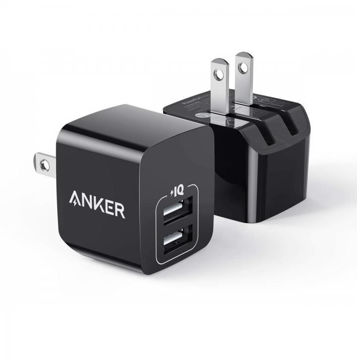 Anker PowerPort mini 2個セット ブラック 【4月下旬】_0