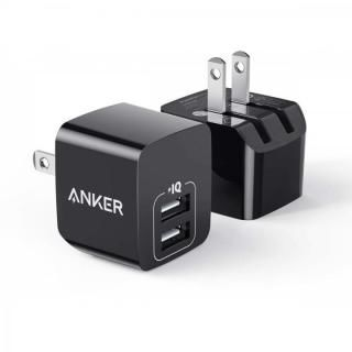 Anker PowerPort mini 2個セット ブラック 【4月下旬】