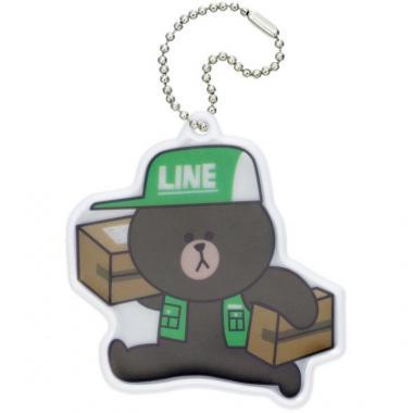 LINE リフレクター/ブラウン/04