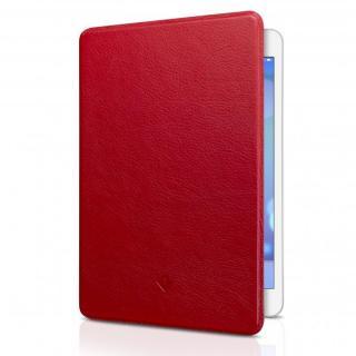 極薄レザーフリップケース ポップレッド  iPad mini/2/3ケース