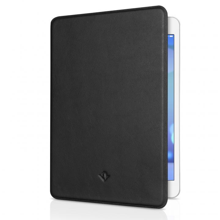 極薄レザーフリップケース ブラック  iPad mini/2/3ケース_0