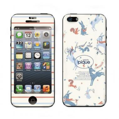 【iPhone 5】 GELATO PIQUE Animal Gingham