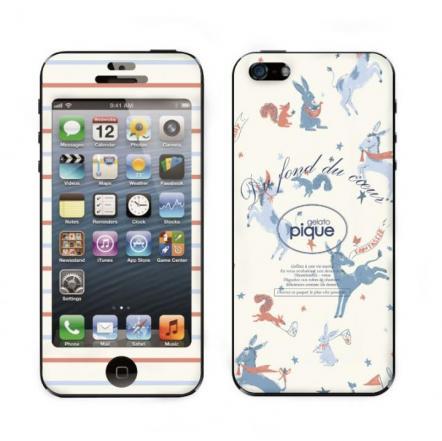 【iPhone 5】 GELATO PIQUE Animal Gingham