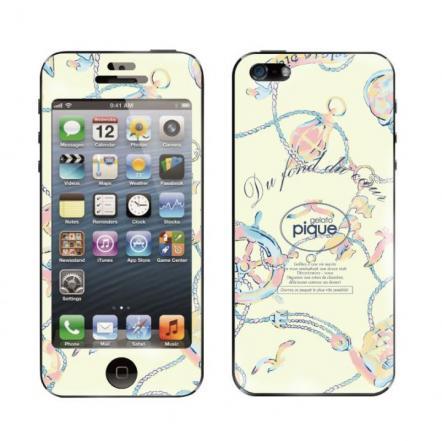 【iPhone 5】 GELATO PIQUE Marine