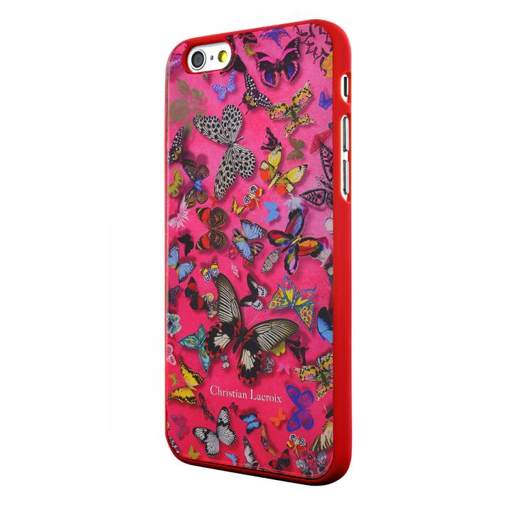 【iPhone6ケース】Christian Lacroix Butterfly ピンク コレクションケース iPhone 6_0