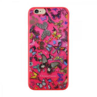 【iPhone6ケース】Christian Lacroix Butterfly ピンク コレクションケース iPhone 6_1