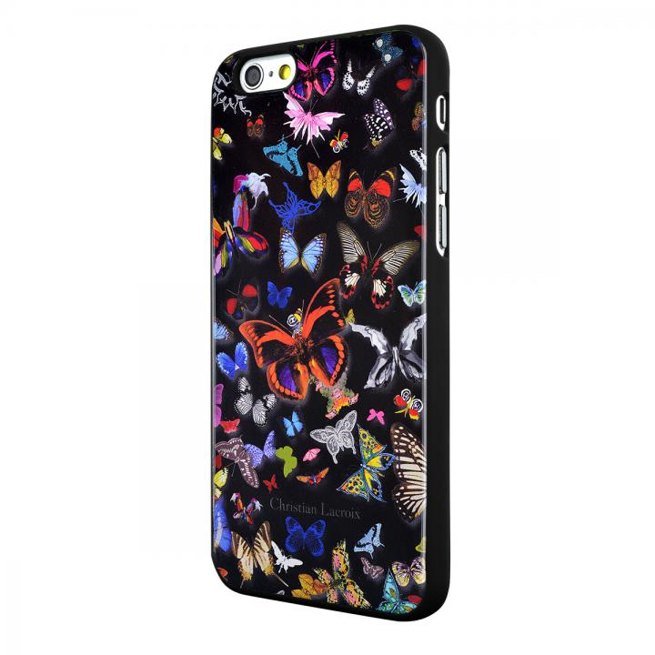 iPhone6 ケース Christian Lacroix Butterfly ブラック コレクションケース iPhone 6_0