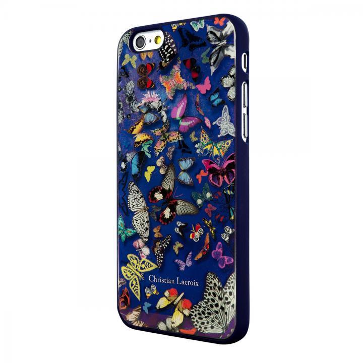 【iPhone6ケース】Christian Lacroix Butterfly ブルー コレクションケース iPhone 6_0