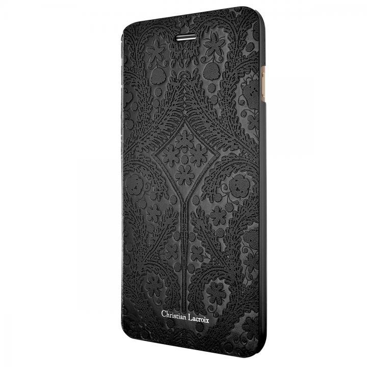 【iPhone6ケース】Christian Lacroix Paseo ブラック 手帳型コレクションケース iPhone 6_0