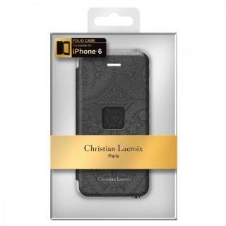 【iPhone6ケース】Christian Lacroix Paseo ブラック 手帳型コレクションケース iPhone 6_4