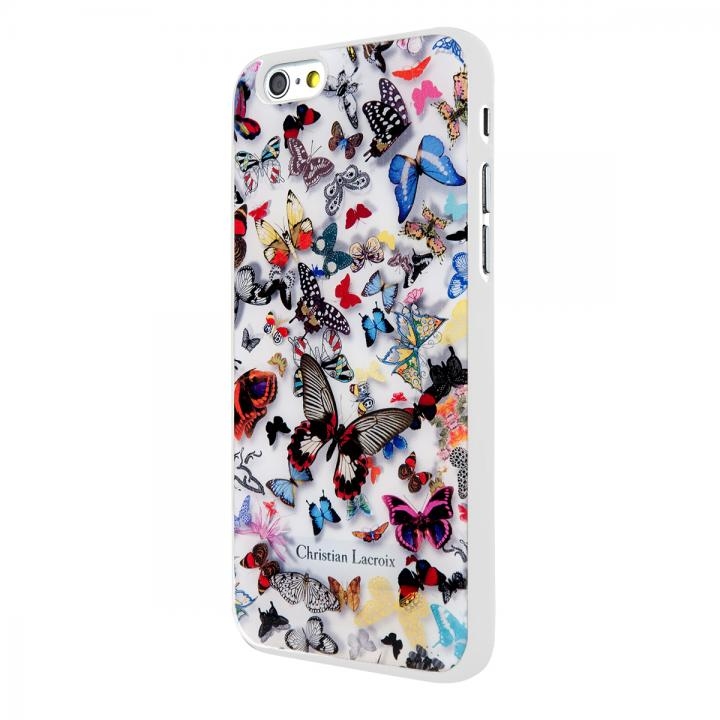 iPhone6 ケース Christian Lacroix Butterfly ホワイト コレクションケース iPhone 6_0