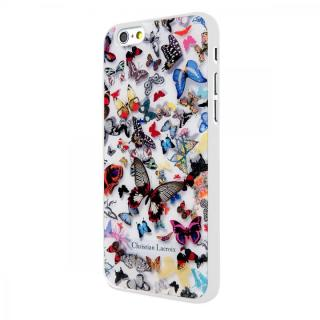 iPhone6 ケース Christian Lacroix Butterfly ホワイト コレクションケース iPhone 6