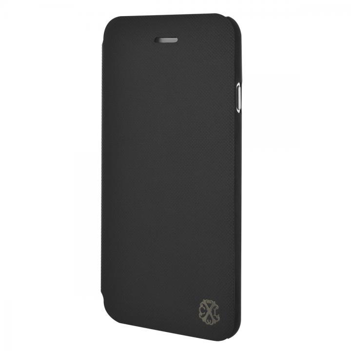 【iPhone6ケース】Christian Lacroix Suiting ブラック 手帳型コレクションケース iPhone 6_0
