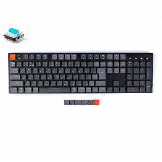 Keychron K1 ワイヤレス・メカニカルキーボード RGBライト 日本語 テンキー付 Gateron青軸