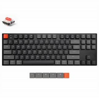 Keychron K1 ワイヤレス・メカニカルキーボード RGBライト US テンキーレス Gateron赤軸【5月下旬】