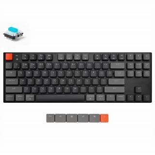 Keychron K1 ワイヤレス・メカニカルキーボード RGBライト US テンキーレス Gateron青軸