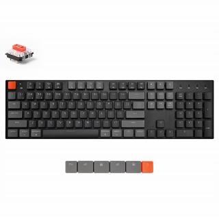 Keychron K1 ワイヤレス・メカニカルキーボード RGBライト US テンキー付 Gateron赤軸