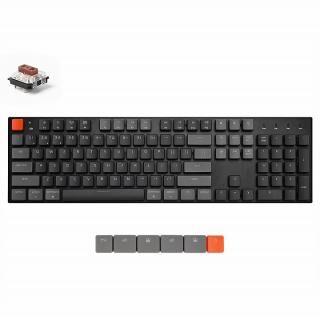 Keychron K1 ワイヤレス・メカニカルキーボード RGBライト US テンキー付 Gateron茶軸