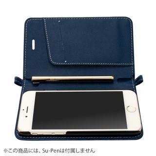 Su-Penホルダー付手帳型ケース ディープブルー iPhone 6s/6