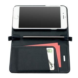 【iPhone6ケース】Su-Penホルダー付手帳型ケース+Su-Penスペシャルセット ブラック+ブラックニッケル iPhone 6_1