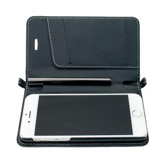 【iPhone6ケース】Su-Penホルダー付手帳型ケース+Su-Penスペシャルセット ブラック+ブラックニッケル iPhone 6_4
