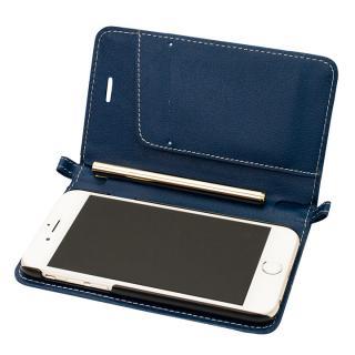 Su-Penホルダー付手帳型ケース+Su-Penスペシャルセット ディープブルー+ホワイトゴールド iPhone 6