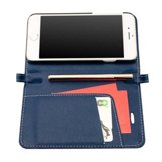 【iPhone6ケース】Su-Penホルダー付手帳型ケース+Su-Penスペシャルセット ディープブルー+ホワイトゴールド iPhone 6_1